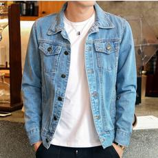 Fashion, Blue light, denim jacket, outwearcoat
