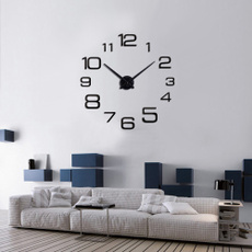 quartz, wallwatch, Home Decor, 3dwallclock
