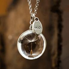 dandelionseed, Jewelry, Spring, Handmade