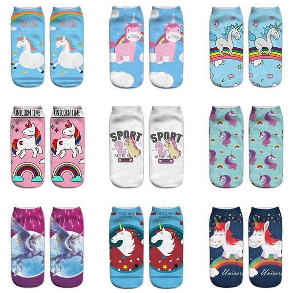 3dprintsock, boatsock, Cotton Socks, Colorful