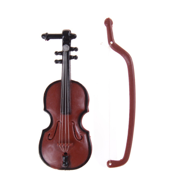 Decor, Gifts, miniatureviolin, Dollhouse
