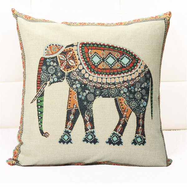 Home Decor, Office, Elephant, Pillowcases