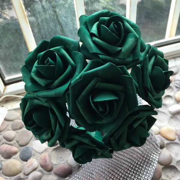 Flowers, emeraldweddingtheme, bridalbouquetemeraldgreen, Bouquet