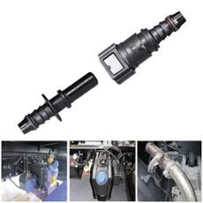 Connector, 8MM, plasticpipe, Automotive