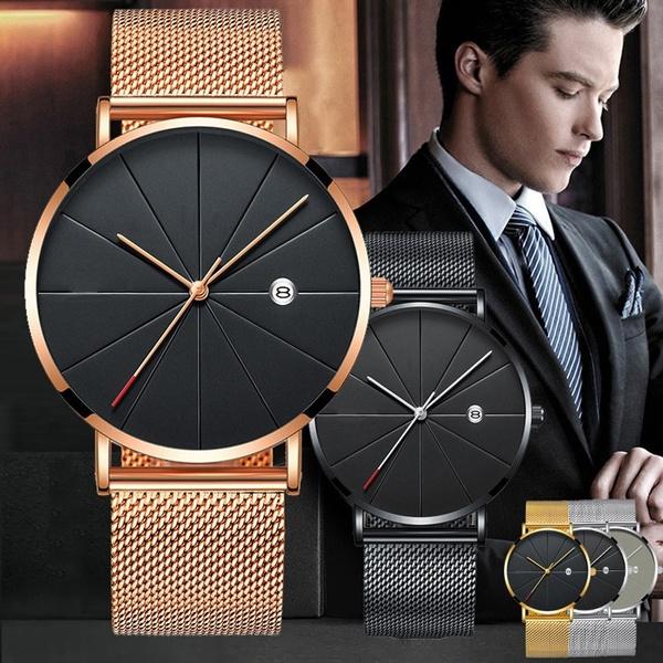 simplewatch, Fashion, wristwatch, Stainless Steel