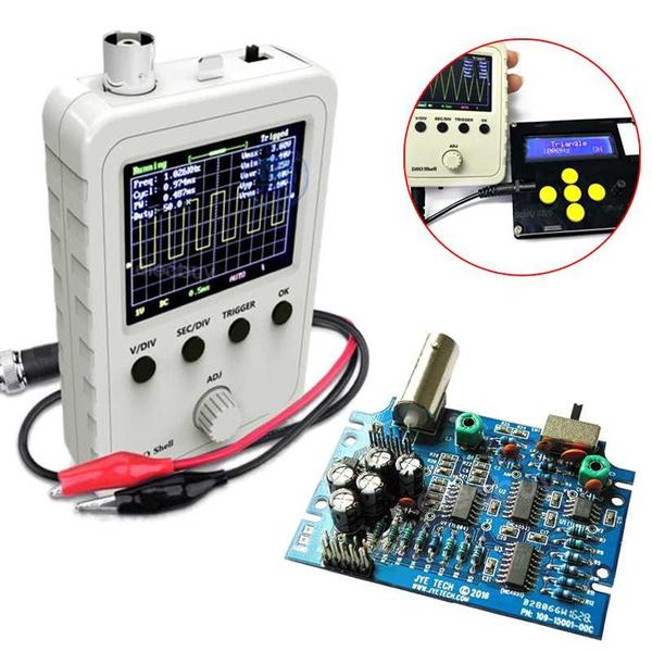 Mini, componentskit, oscilloscope, digitaloscilloscope