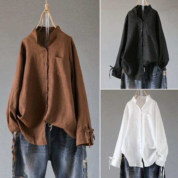 blouse, Fashion, cottonlinen, Shirt
