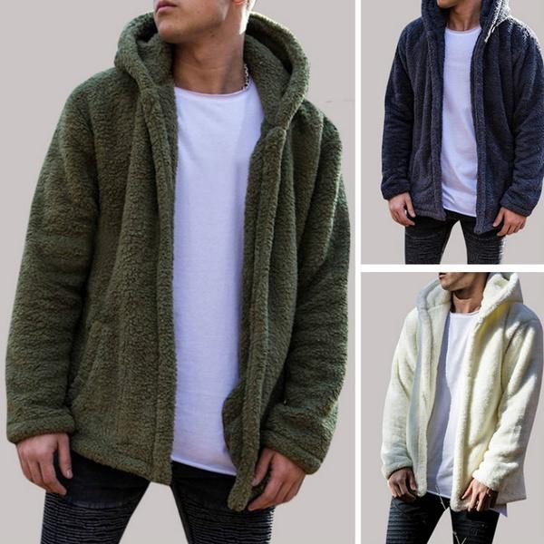 woolen, woolen coat, Fleece, hooded