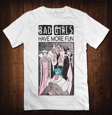 Fashion, Shirt, badgirl, funshirt