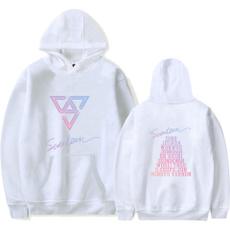 Couple Hoodies, seventeensweatshirt, seventeen, Plus Size