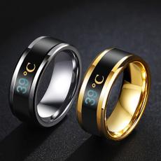 Couple Rings, Steel, ringforwomen, Jewelry