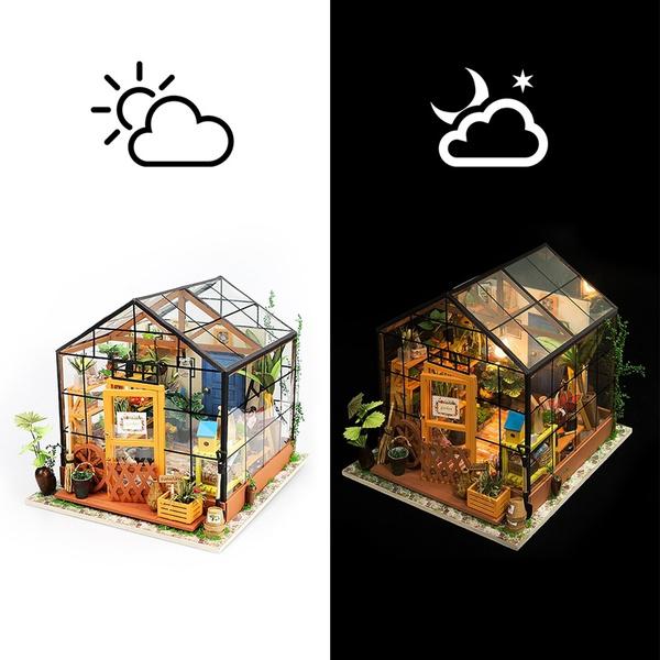 Garden, diydollhouse, Home & Living, house