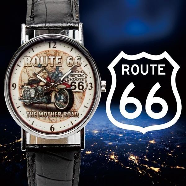 route66, Steel, quartz, Stainless Steel