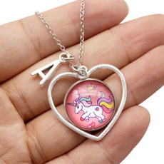 Party Necklace, Gifts, Chain, Heart