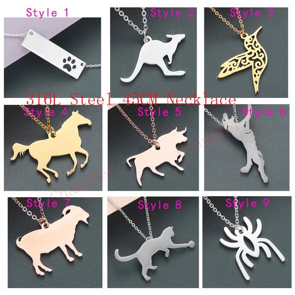 Steel, elk, Bat, Jewelry