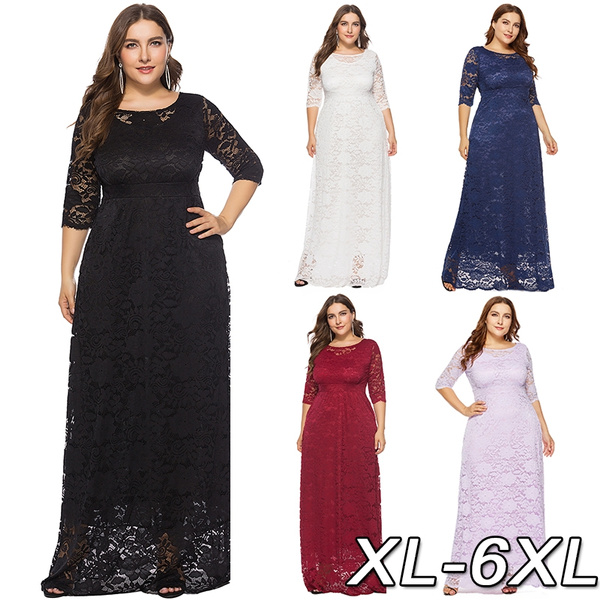 women sexy dress, hollowdre, Plus Size, Lace