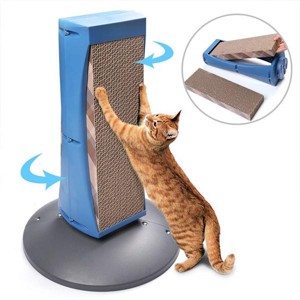 catrotatingscratchpad, detachablecatscratchingcardboard, catscratchingpost, Cats