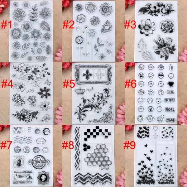 Card, Heart, Flowers, scrapbookingamppapercraft