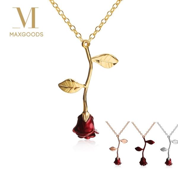 Women, Flowers, Jewelry, gold