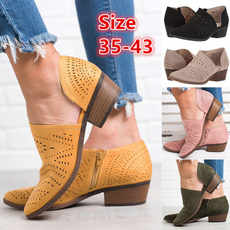 casual shoes, Plus Size, leather shoes, Womens Shoes