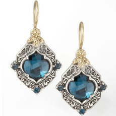 Blues, 925 sterling silver, Jewelry, Blue Sapphire