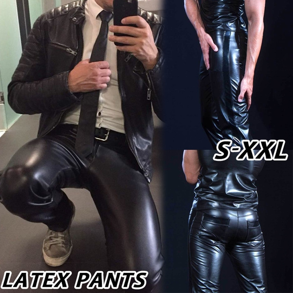latex, stretchypant, Nightclubs costume, skinny pants
