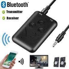 Stereo, bluetoothtransmitter, TV, transmitterreceiver