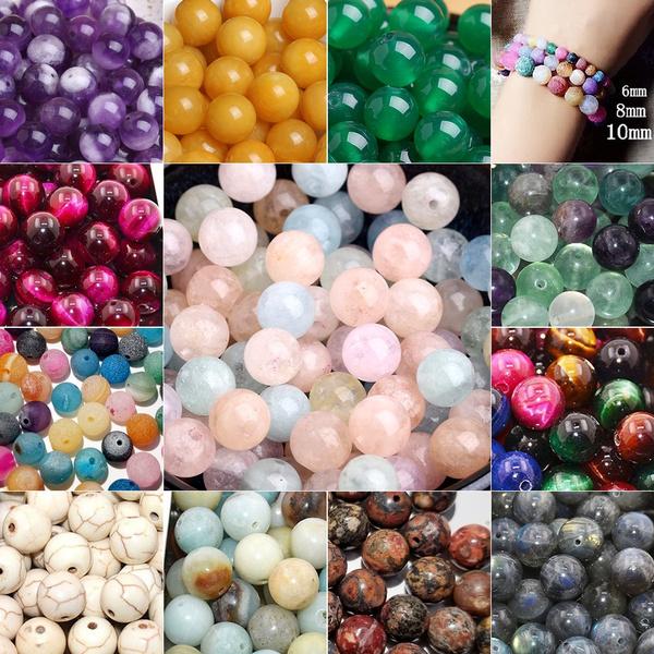 8MM, Bracelet Making, Jewelry Making, Rose