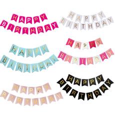bunting, Garland, happybirthdaybanner, birthdayparty