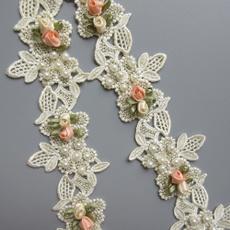 Craft, Vintage, Flowers, Lace