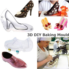 Womens Shoes, chocolatemold, caketopper, candymold