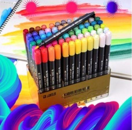 case, art, watercolorpencil, 60color