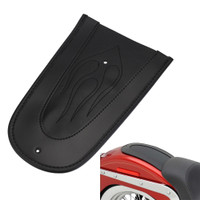 Universal 6 Suction Cup Rectangular Pillion Passenger Pad Seat For Harley Sportster 883 1200 XL 48 72 Fatboy Dyna Softail Chopper Bobber Custom Cafer V-ROD Street Bob Touring Road King Indian