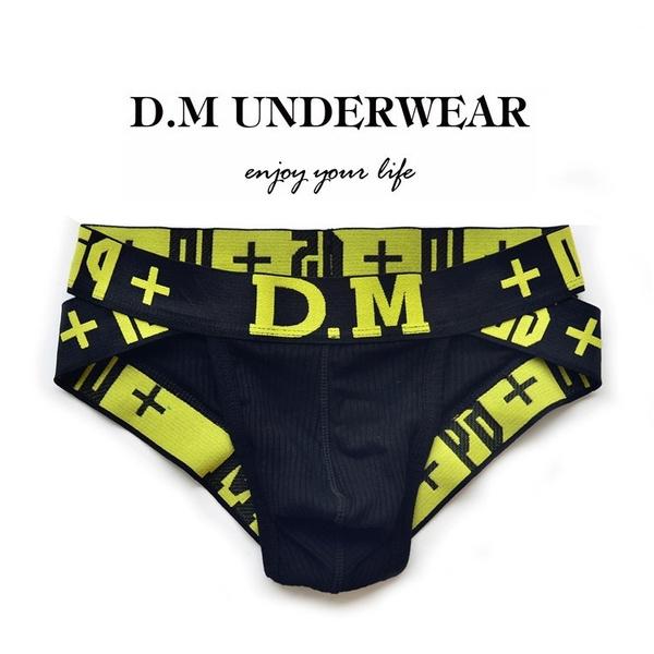 Underwear, mens underwear, letter print, Men