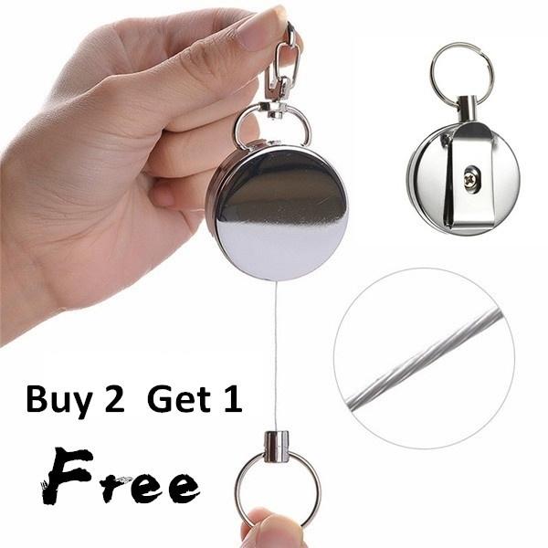 Steel, Wire, Key Chain, Jewelry