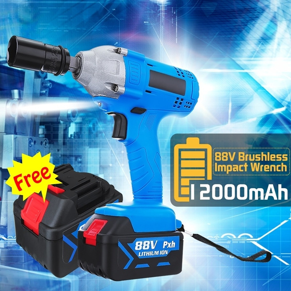 Rechargeable, electricwrench, impactwrench, Battery