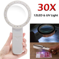 moneydetector, led, 30xmagnifier, jewelrymagnifier