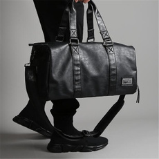 Capacity, leatherduffelbag, Luggage, leather