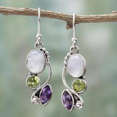 Sterling, rainbow, Jewelry, 925 silver earrings