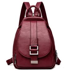 Shoulder, Shoulder Bags, School, leather