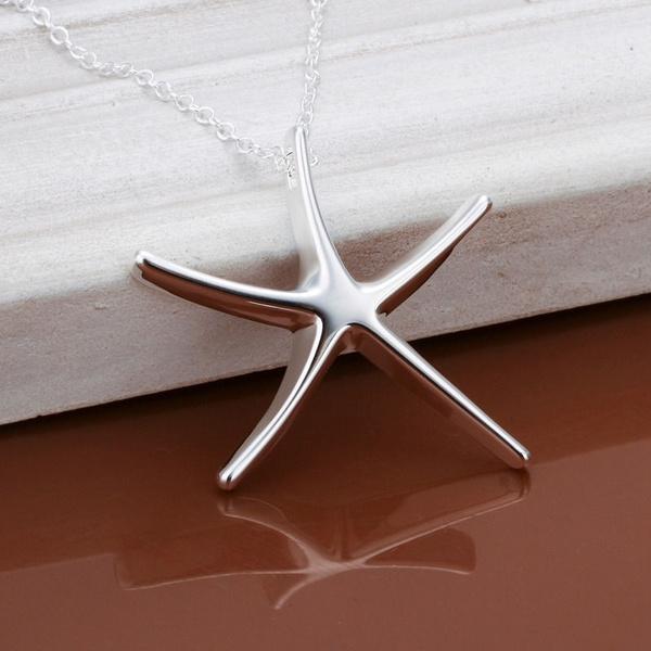 Sterling, Necklaces Pendants, Star, Jewelry