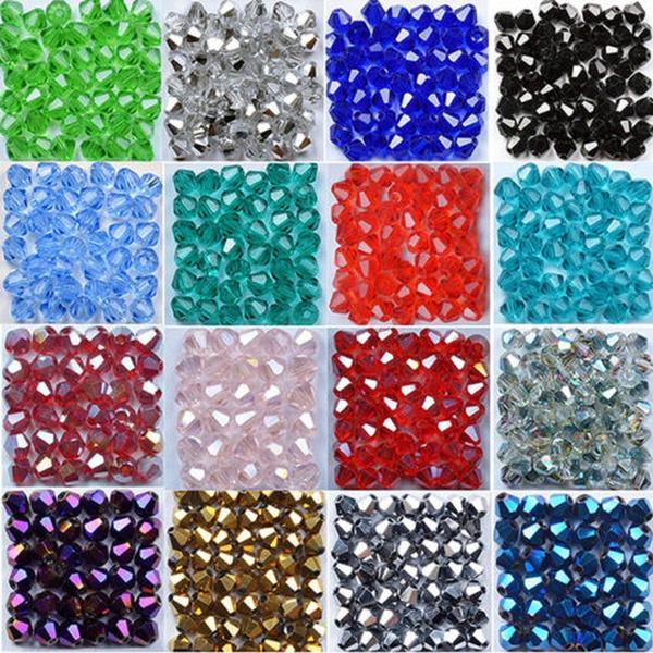 Charm Bracelet, Jewelry Accessories, czechglassbead, faceted