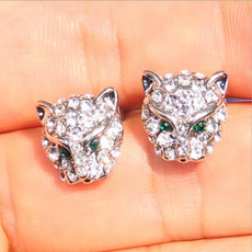 Head, DIAMOND, Gemstone Earrings, Gifts