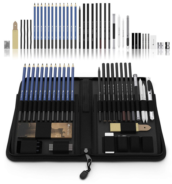 case, pencil, art, Charcoal