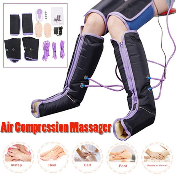 Electric, relaxing, aircompressionmassgaer, legmassager