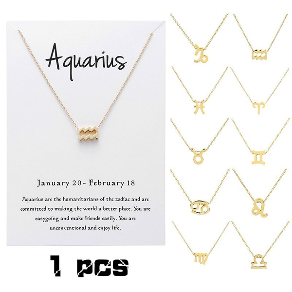 messagecard, constellationnecklace, zodiacnecklace, Jewelry