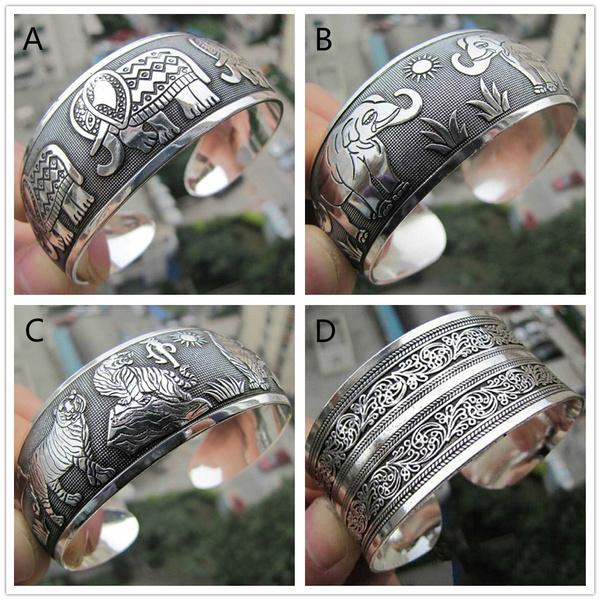 tibetsilverbanglet, Jewelry, Gifts, Bracelet