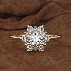 Antique, DIAMOND, gold, Engagement Ring