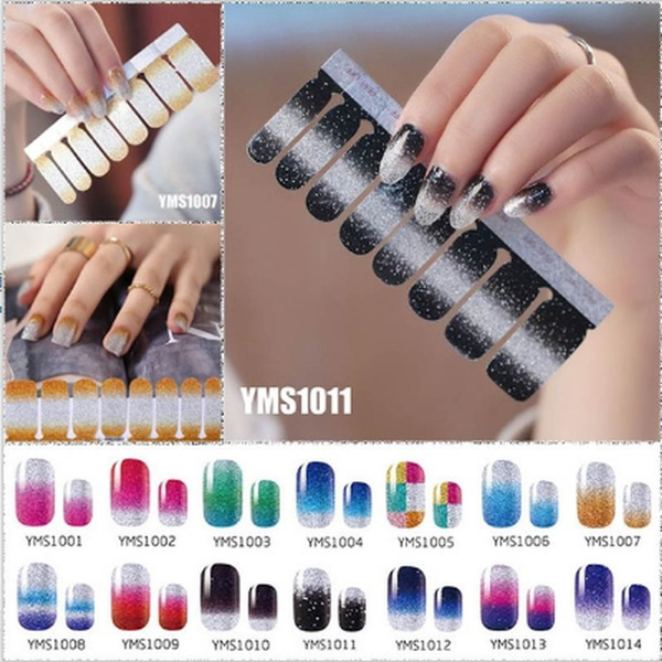 Beauty, Waterproof, Nail Polish, Stickers