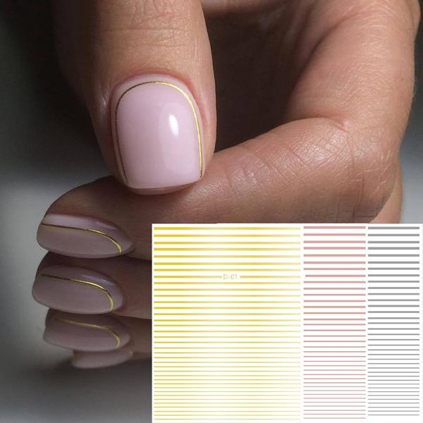 nail decoration, silvernailsticker, nail decals, art